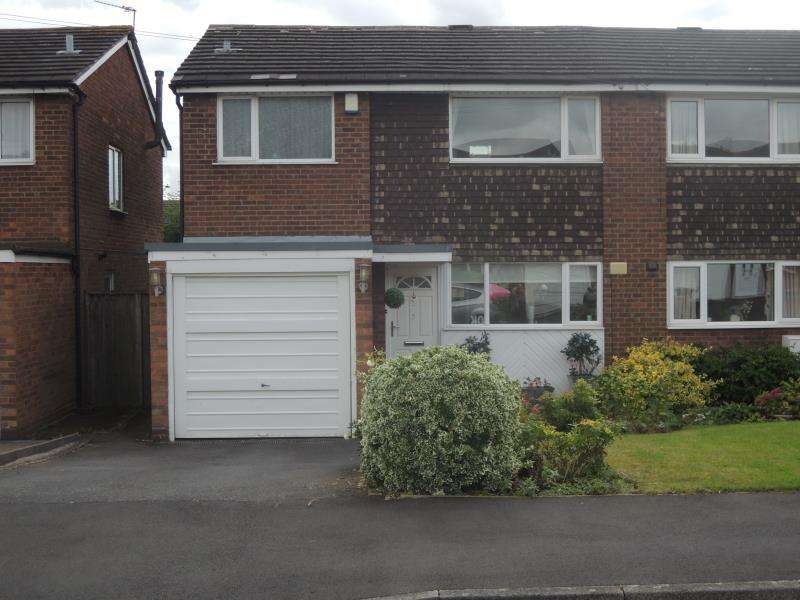 3 Bedrooms Semi Detached House for rent in Hilary Drive, Sutton Coldfield, B76 2SW