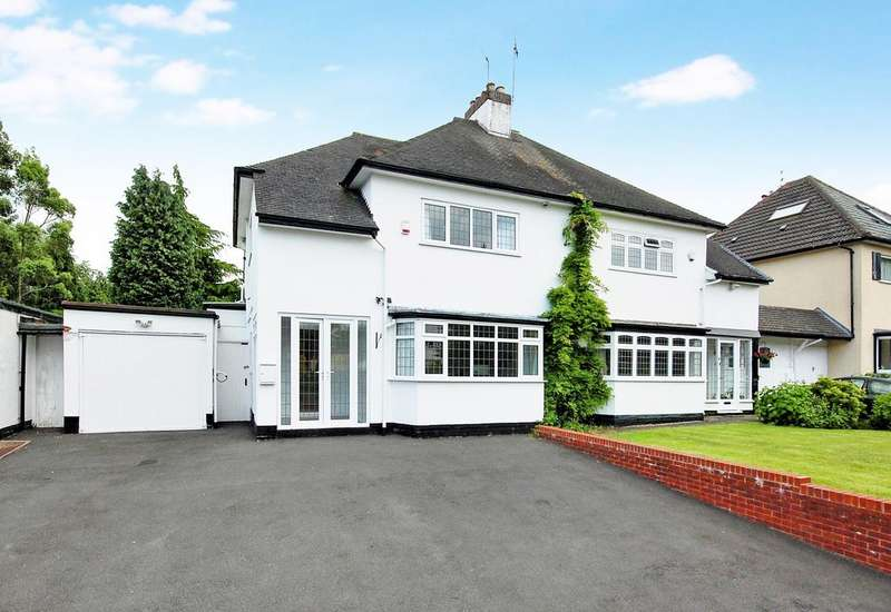 3 Bedrooms Semi Detached House for sale in Woodthorne Road, Tettenhall, Wolverhampton WV6