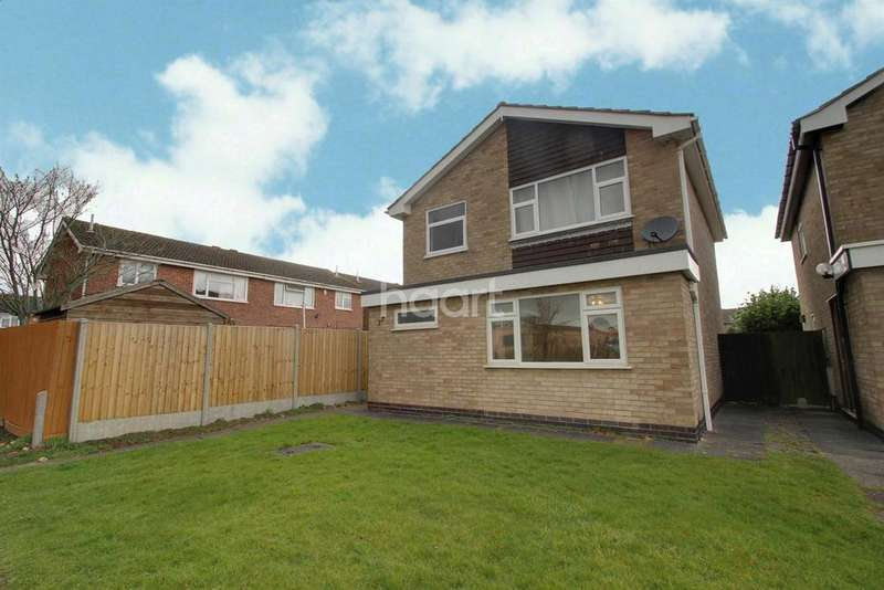 3 Bedrooms Detached House for sale in Great Meadow Road, Off Anstey Lane, Leicester