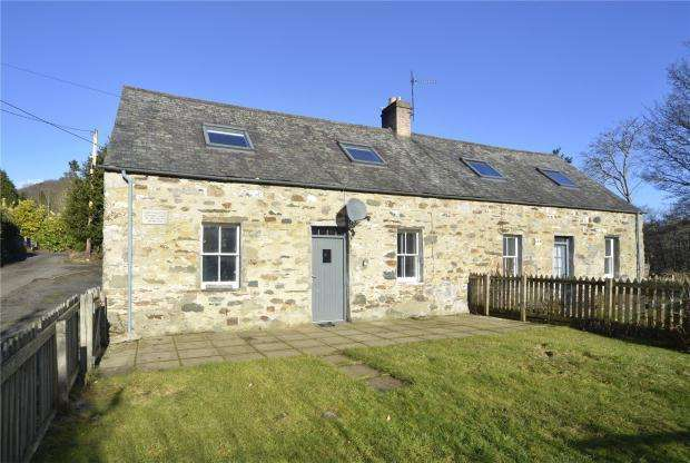 3 Bedrooms Semi Detached House for sale in Inverbraan Cottage, Inver, Dunkeld, Perth and Kinross