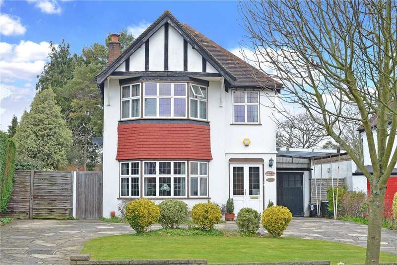 4 Bedrooms Detached House for sale in Southway, Carshalton Beeches, SM5