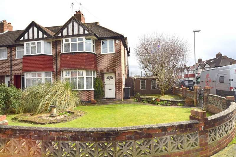 3 Bedrooms Terraced House for sale in Kingshill Avenue, Worcester Park,
