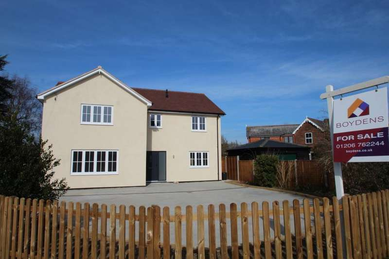 4 Bedrooms Detached House for sale in Quilters Green, Fordham, Colchester, Essex
