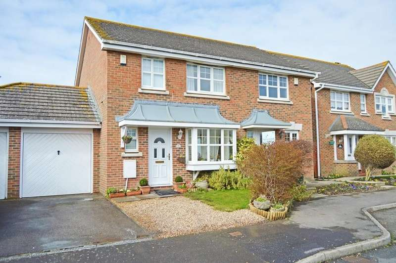 3 Bedrooms Semi Detached House for sale in Main Drive, Middleton-On-Sea, Bognor Regis, PO22