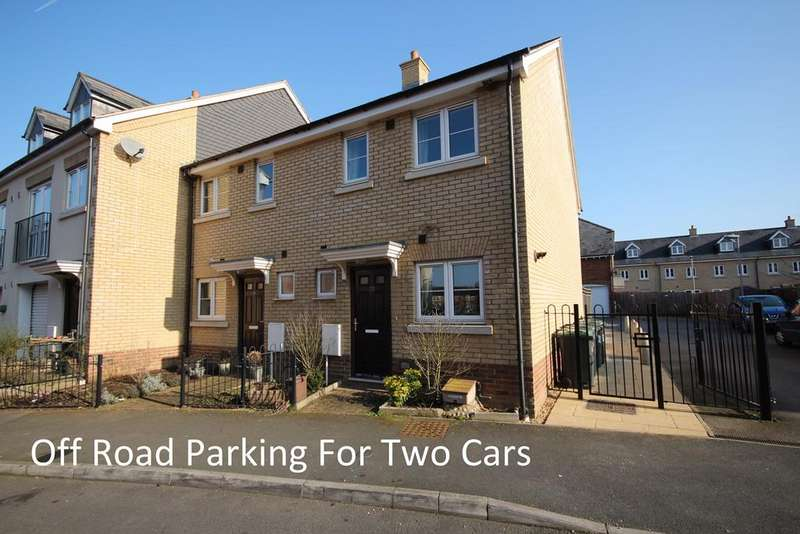 2 Bedrooms End Of Terrace House for sale in River View, Shefford, SG17