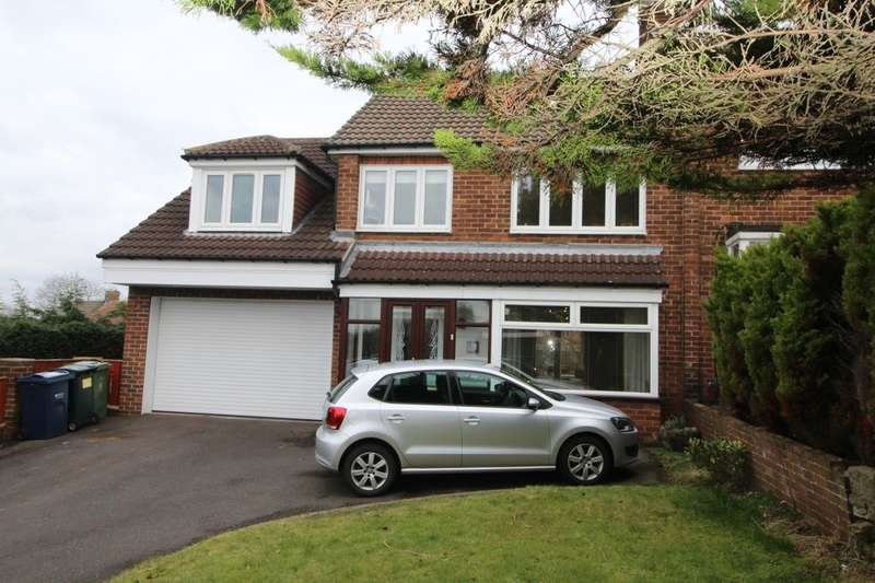 4 Bedrooms Semi Detached House for sale in Horncliffe Gardens, Swalwell, Newcastle Upon Tyne, NE16