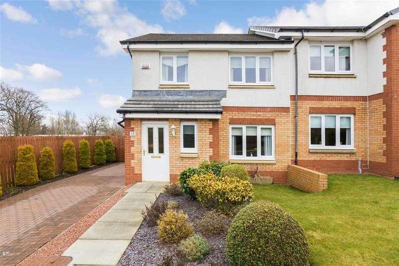 3 Bedrooms Semi Detached House for sale in Graham Wynd, High Whitehills, EAST KILBRIDE