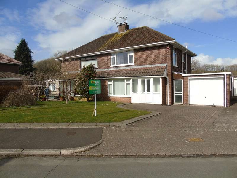 3 Bedrooms Semi Detached House for sale in Ashcroft Crescent, Cardiff