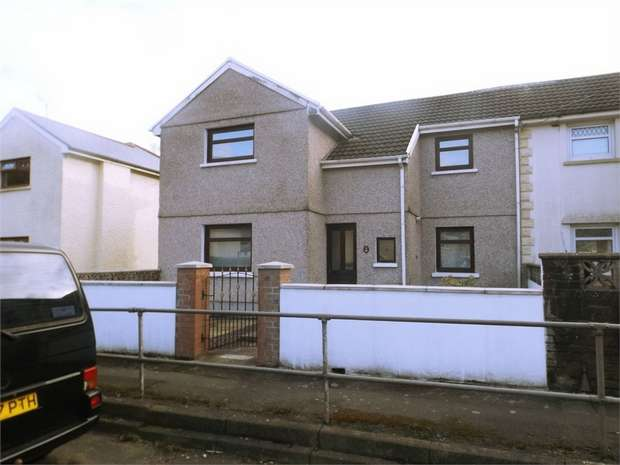 4 Bedrooms Semi Detached House for sale in Trefelin Crescent, Port Talbot, West Glamorgan