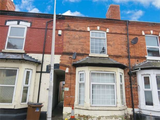 3 Bedrooms Terraced House for sale in Foxhall Road, Nottingham