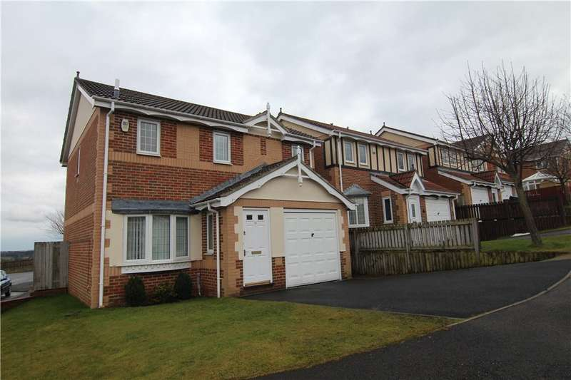 4 Bedrooms Detached House for sale in Hilltop Road, Bearpark, Durham, DH7