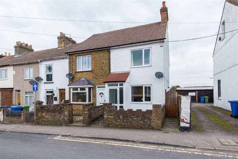 3 Bedrooms End Of Terrace House for sale in Shortlands Road, Sittingbourne