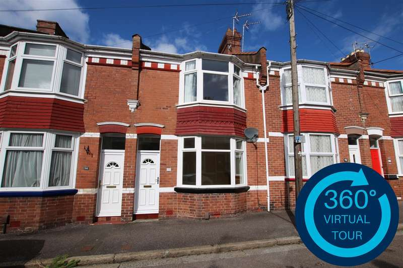 3 Bedrooms Terraced House for sale in Cedars Road, St Leonards, Exeter