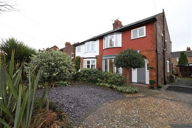 3 Bedrooms Semi Detached House for sale in Talbot Road, Stretford, Trafford, M32