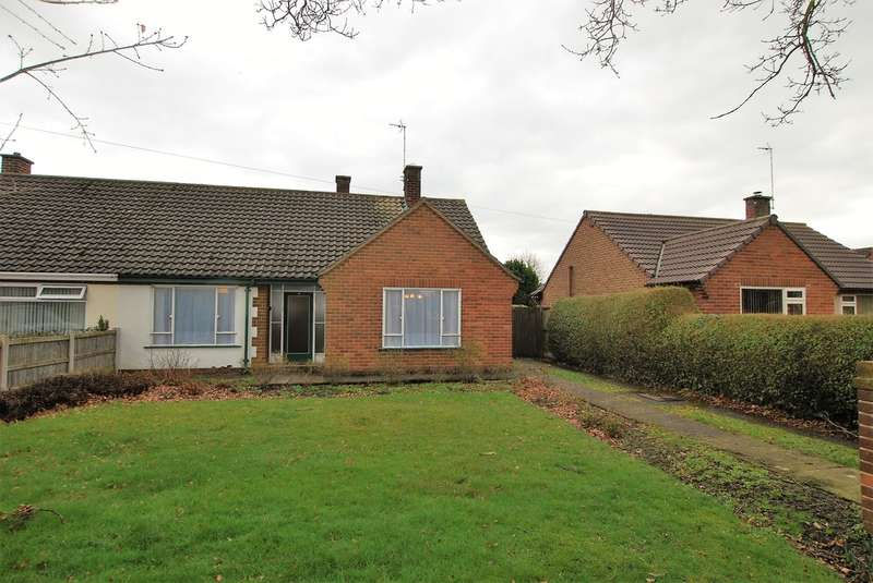 2 Bedrooms Semi Detached Bungalow for sale in Church Road, Saughall