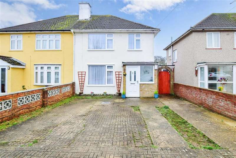 3 Bedrooms Semi Detached House for sale in Worcester Road, , Maidstone, Kent