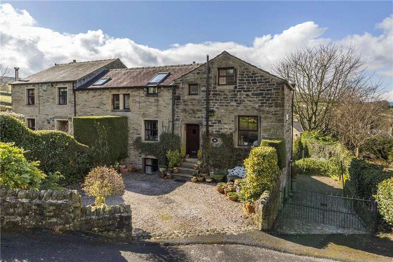 3 Bedrooms Unique Property for sale in Bank Cottage, Hollins Bank Lane, Steeton, Keighley