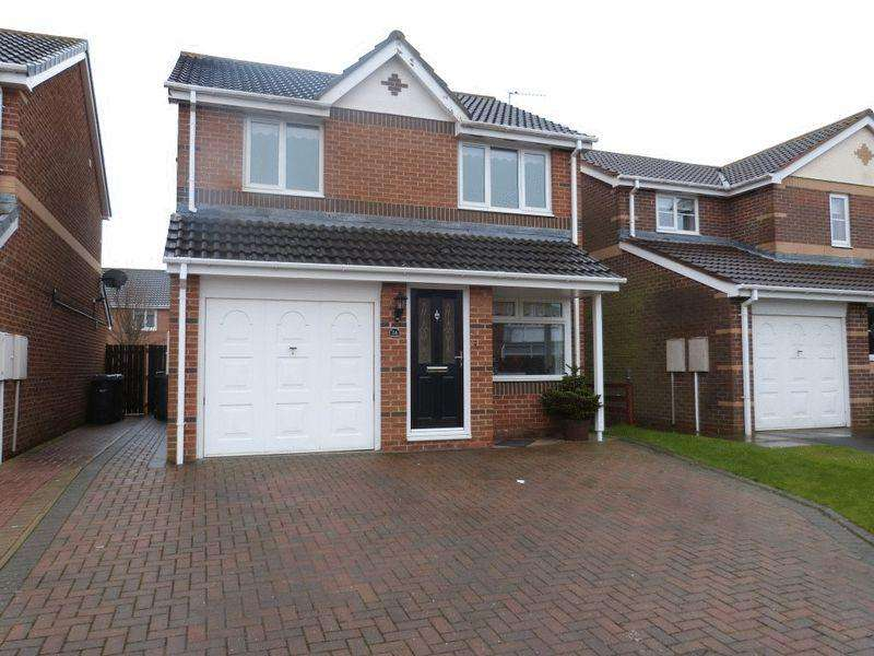 3 Bedrooms Detached House for rent in Larchwood Drive, Ashington - Three Bedroom Detached House