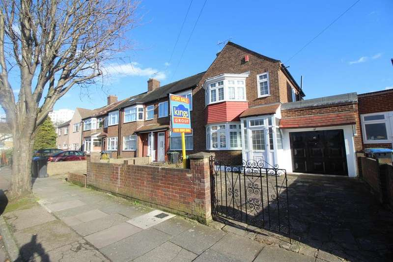 3 Bedrooms End Of Terrace House for sale in Durants Park Avenue, Enfield