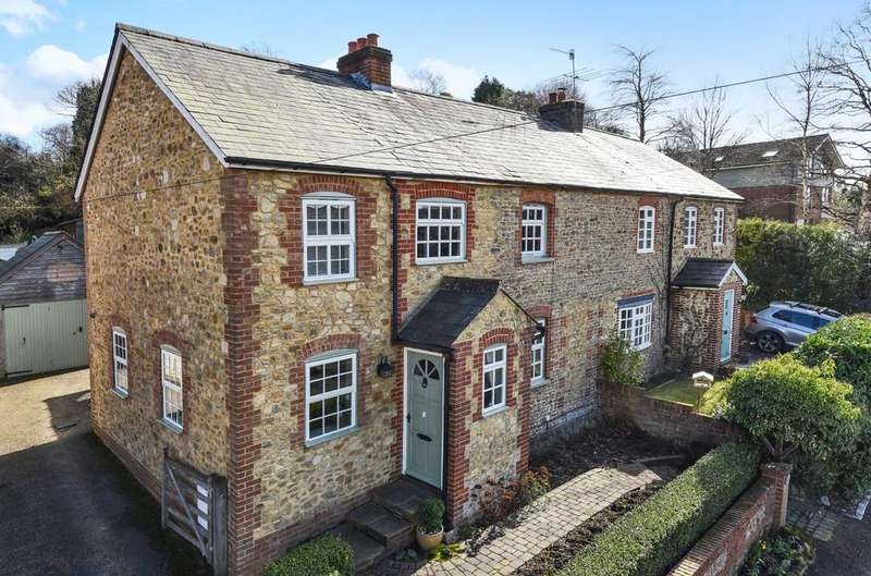4 Bedrooms Semi Detached House for sale in Upper Bourne Lane, Wrecclesham