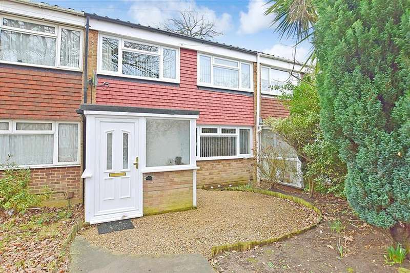 3 Bedrooms Terraced House for sale in Rycaut Close, Parkwood, Gillingham, Kent