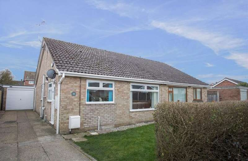 2 Bedrooms Semi Detached Bungalow for sale in North Park , Fakenham
