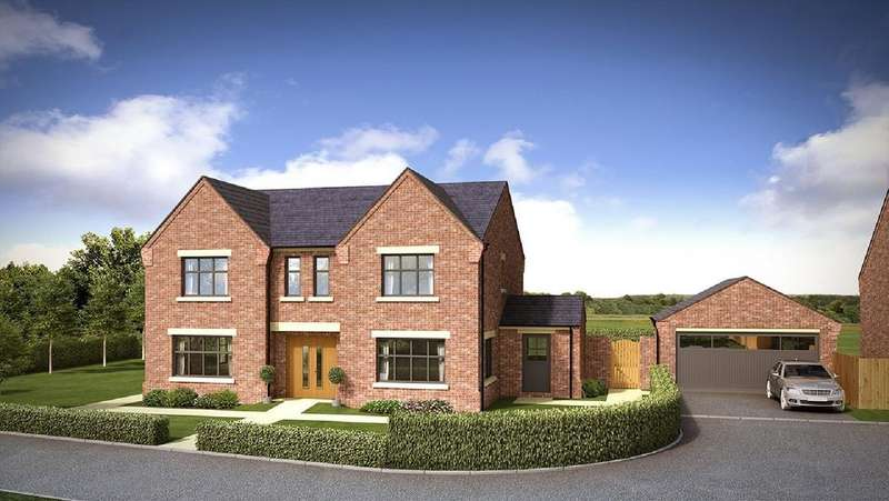 5 Bedrooms Detached House for sale in Springbank Farm, Coppice Road, Poynton