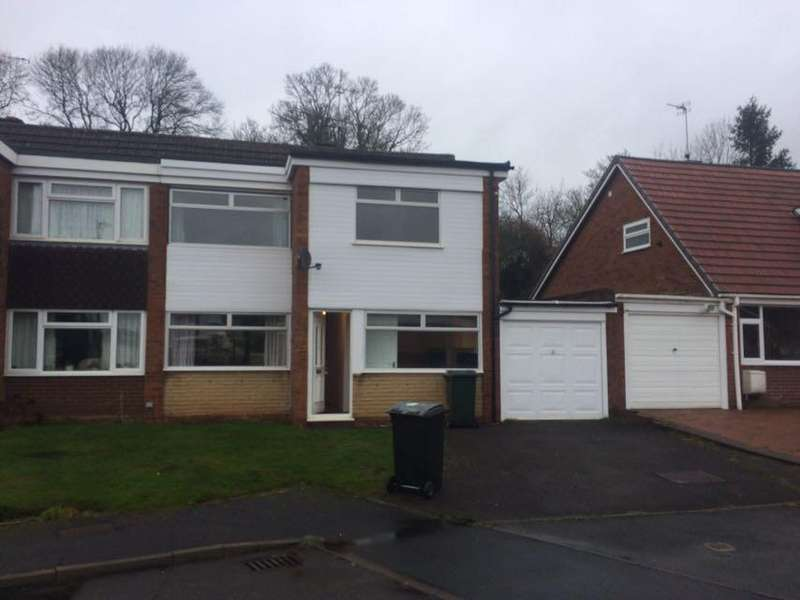 3 Bedrooms Semi Detached House for rent in Botfield Close, Albrighton, Wolverhampton WV7