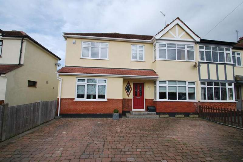 4 Bedrooms End Of Terrace House for sale in Devonshire Road, Hornchurch, Essex, RM12