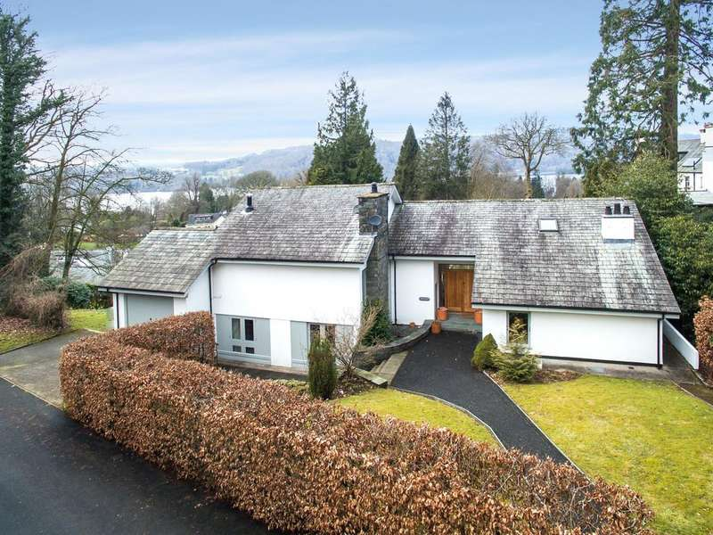 4 Bedrooms Detached House for sale in Hideaway, Middle Entrance Drive, Bowness-on-Windermere, Windermere, LA23 3JY