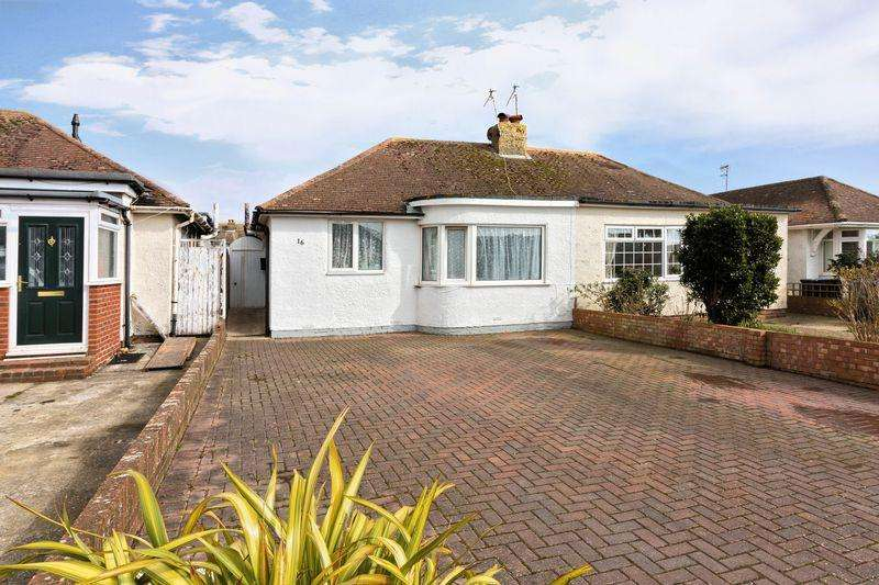 3 Bedrooms Bungalow for sale in Bristol Avenue, Lancing