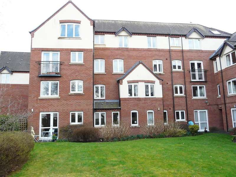 2 Bedrooms Retirement Property for sale in Watkins Court, Old Mill Close, Hereford, HR4