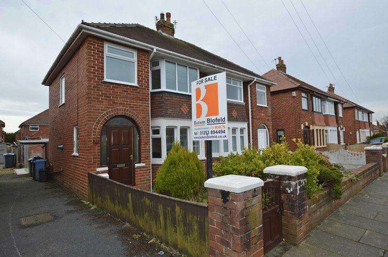 3 Bedrooms Semi Detached House for sale in Aintree Road, Thornton-Cleveleys, FY5 5HW