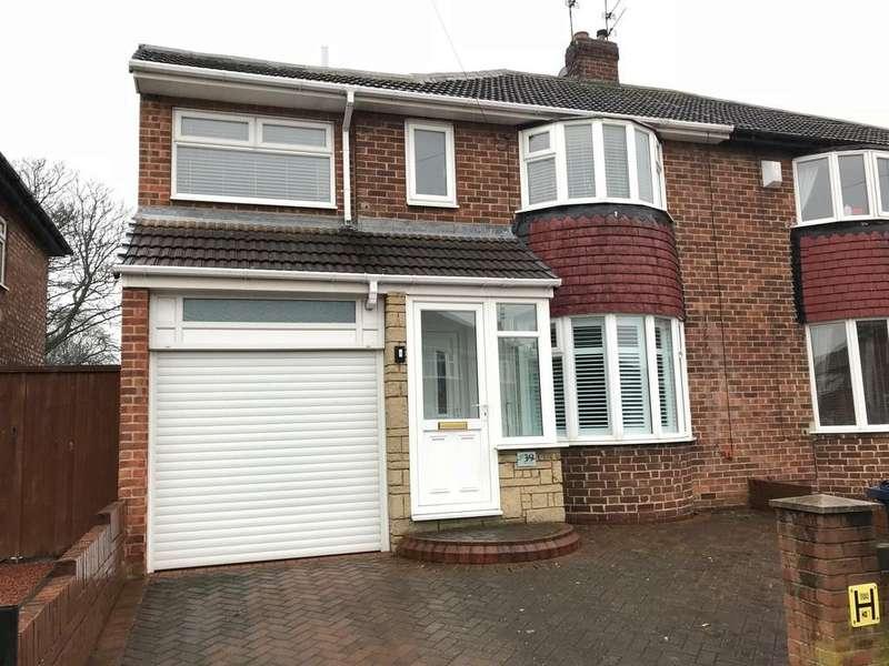 4 Bedrooms Semi Detached House for sale in Torver Crescent, Seaburn Dene