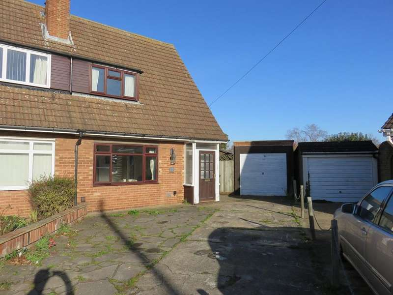 2 Bedrooms Semi Detached House for sale in St Margarets Gardens, Biggleswade, SG18