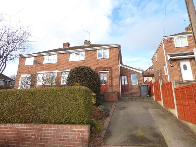 3 Bedrooms Semi Detached House for sale in Bryans Close, Whitwick LE67