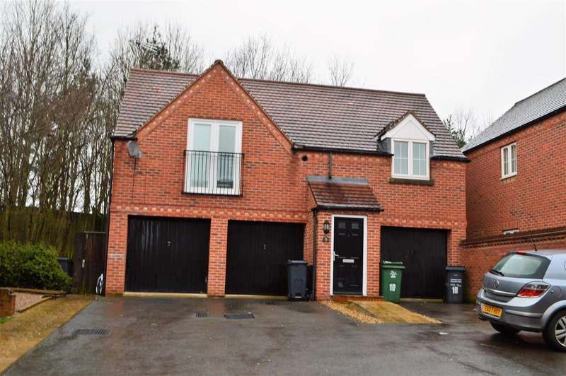 2 Bedrooms Property for sale in Booth End, Loughborough