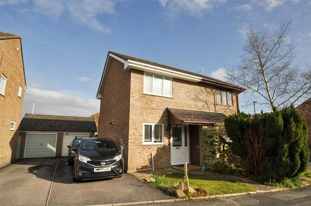2 Bedrooms Semi Detached House for sale in Bullfinch Close, Creekmoor, POOLE, Dorset