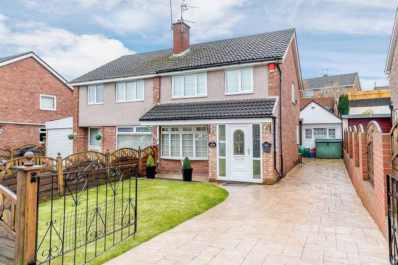 3 Bedrooms Semi Detached House for sale in Elm Grove, Malpas, Newport