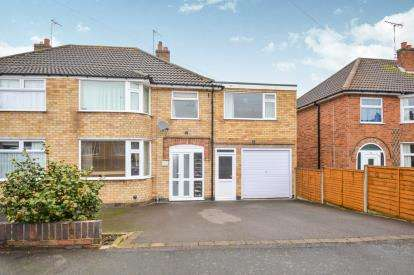 5 Bedrooms Semi Detached House for sale in Grangeway Road, Wigston, Leicester