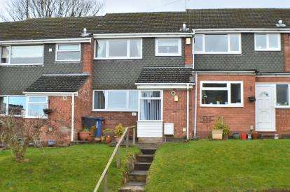 3 Bedrooms Terraced House for sale in Rectory Gardens, Off Rectory Lane, Armitage, Staffordshire