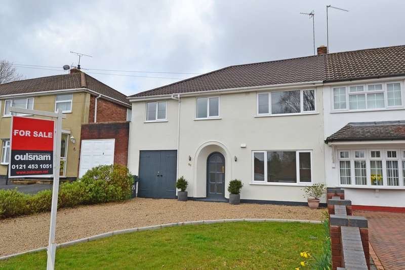 4 Bedrooms Semi Detached House for sale in Waseley Road, Rednal, Birmingham, B45