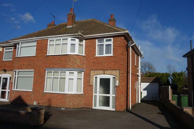 3 Bedrooms Semi Detached House for rent in Cedar Road, Blaby LE8