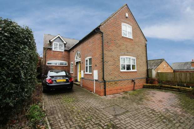 4 Bedrooms Detached House for sale in The Green, Loughborough, Leicestershire, LE12 7AF