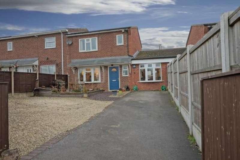 2 Bedrooms Semi Detached House for sale in Hartshay Close, Ilkeston, DE7