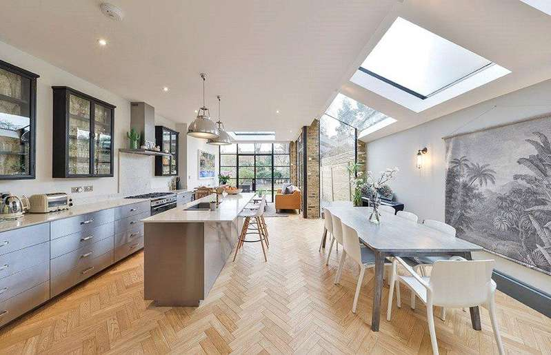 5 Bedrooms Terraced House for sale in Dundonald Road, Queen's Park, London, NW10