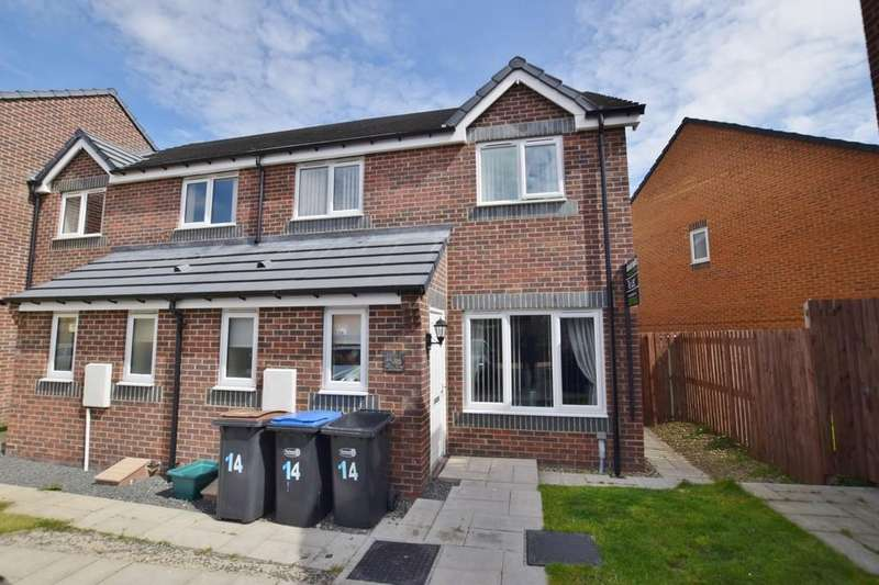 3 Bedrooms End Of Terrace House for sale in Balmoral Avenue, Catchgate, Stanley
