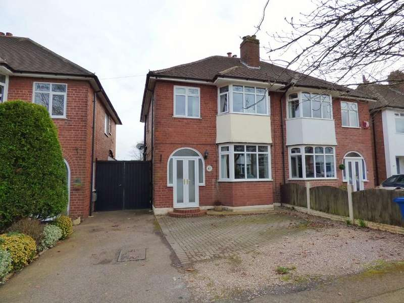3 Bedrooms Semi Detached House for sale in Lyn Avenue, Lichfield