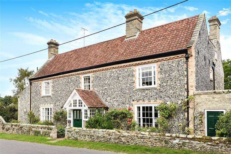 5 Bedrooms Detached House for sale in The Street, Croxton, Thetford, Norfolk