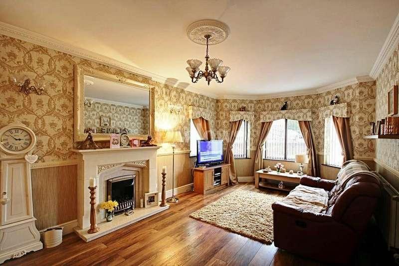 4 Bedrooms Detached House for sale in Nant Celyn Rhymney
